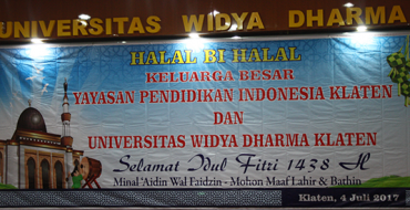 Halal Bi Halal 1438H Keluarga Besar YPI Klaten dan Unwidha