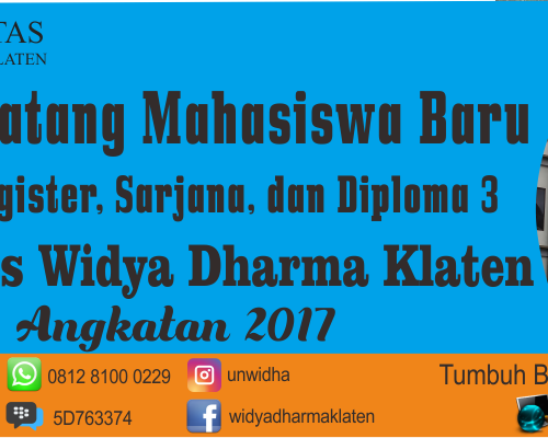 Download Materi Ospek Unwidha 2017/2018