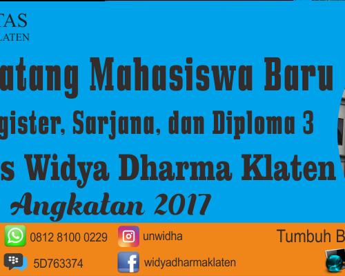 Download Materi Ospek Unwidha 2017/2018