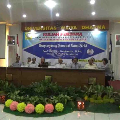 Kuliah Perdana Unwidha Tahun Akademik 2017/2018
