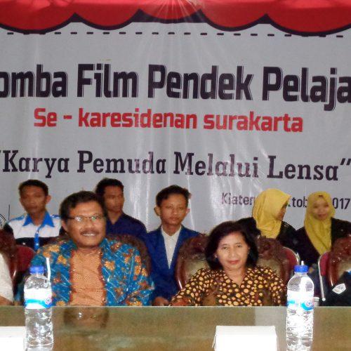 Lomba Film Pendek Pelajar Se-Karesidenan Surakarta yang Diadakan Oleh HMJ Teknik Informatika UNWIDHA