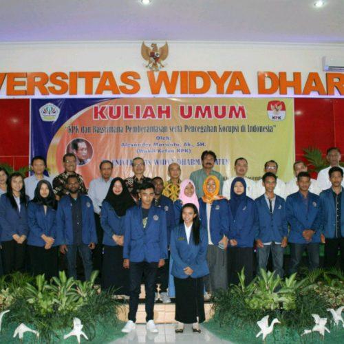 Kuliah Umum oleh Pimpinan KPK