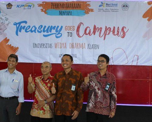 Treasury Goes To Kampus KPPN – Unwidha Klaten