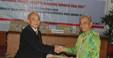 Seminar hari kependudukan Dunia Kerjasama Unwidha dengan BKKBN Prov. Jateng