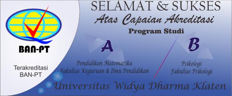 Akreditasi Matematika dan Psikologi