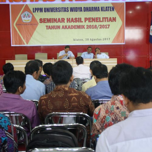 LPPM Menyelenggarakan Seminar Hasil Penelitian