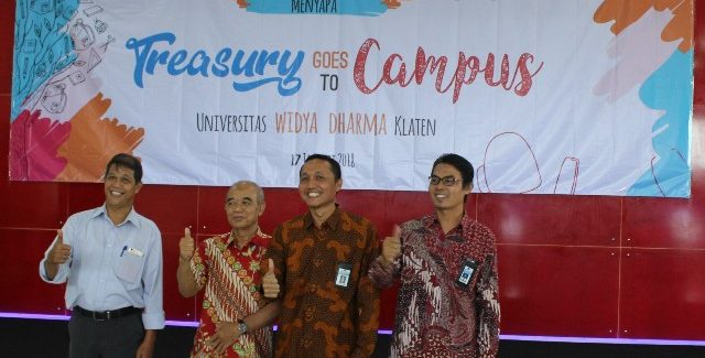 KPPN Klaten goes to campus Unwidha