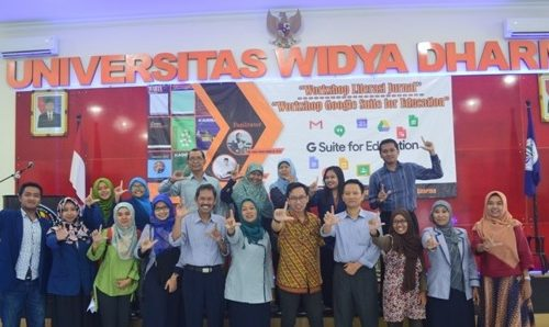 Workshop Literasi Jurnal dan Google Suite for Education