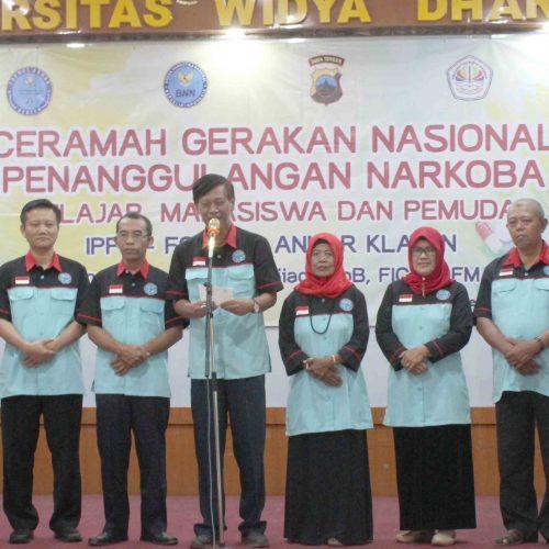 Gerakan Nasional Penanggulangan Narkoba oleh UNWIDHA dan IPPK-Formas ANNAR