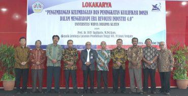 Lokakarya Pengembangan Kelembagaan Dan Peningkatan Kualifikasi Dosen