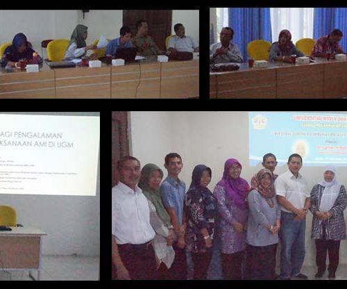 Pelatihan Auditor Audit Mutu Internal UNWIDHA Klaten